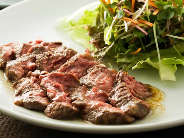牛カイノミ肉のロースト