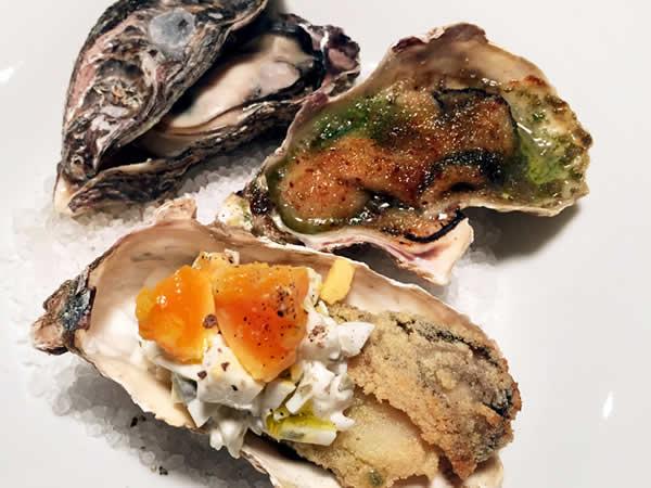 焼き牡蠣いろいろ