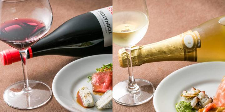 旬の食材に合わせた季節のワイン